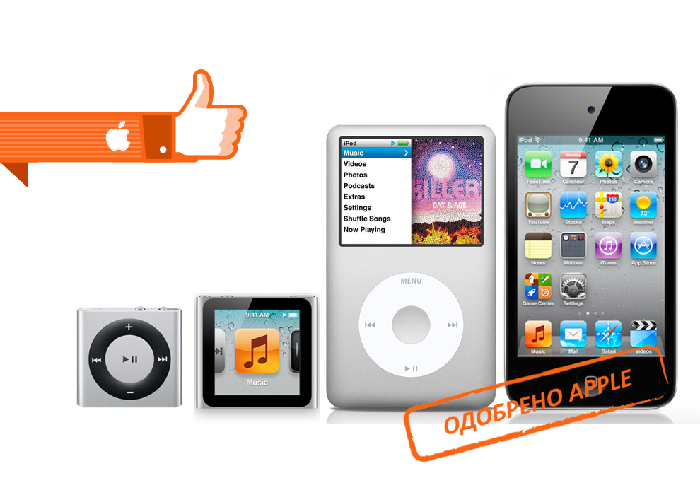Ремонт Apple iPod в Люберцах